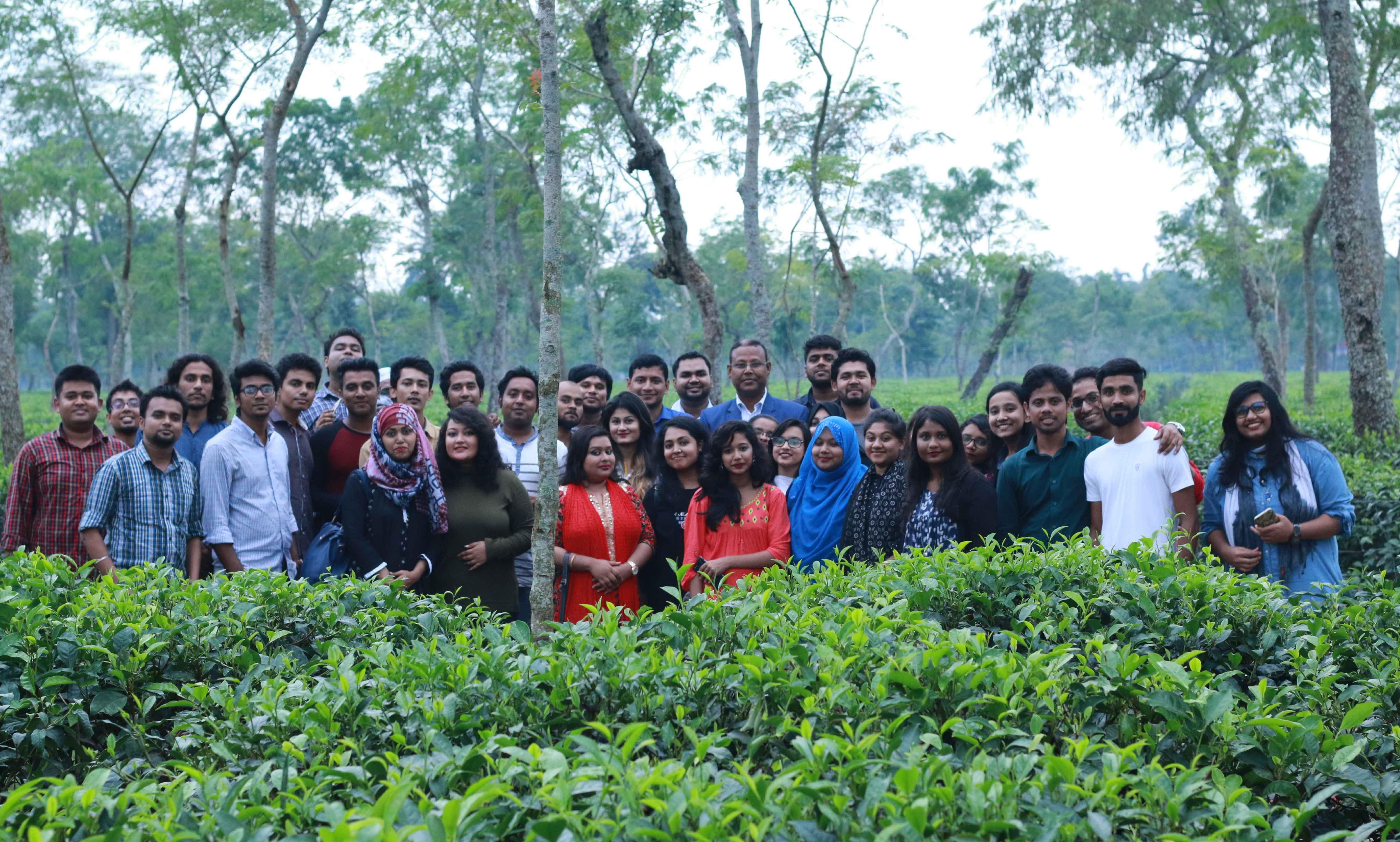 Field trip to Srimangal